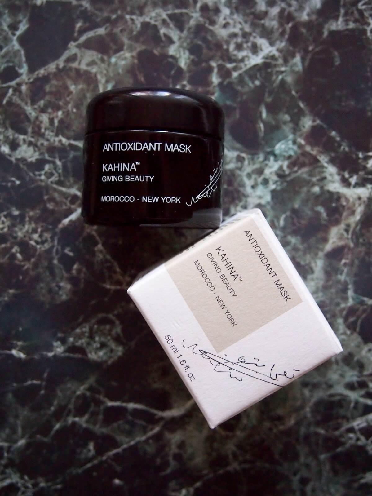 kahina antioxidant mask