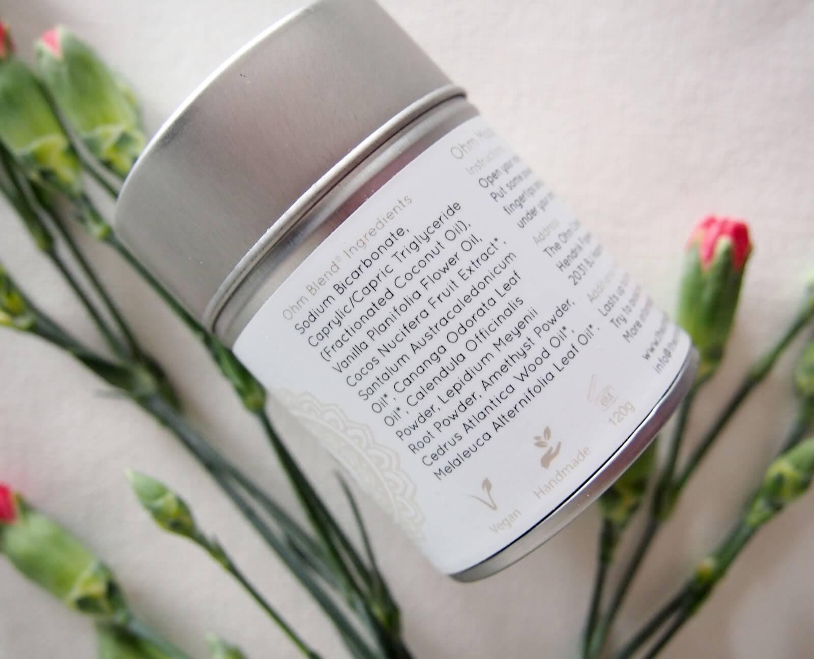 the ohm collection jauhemainen deodorantti