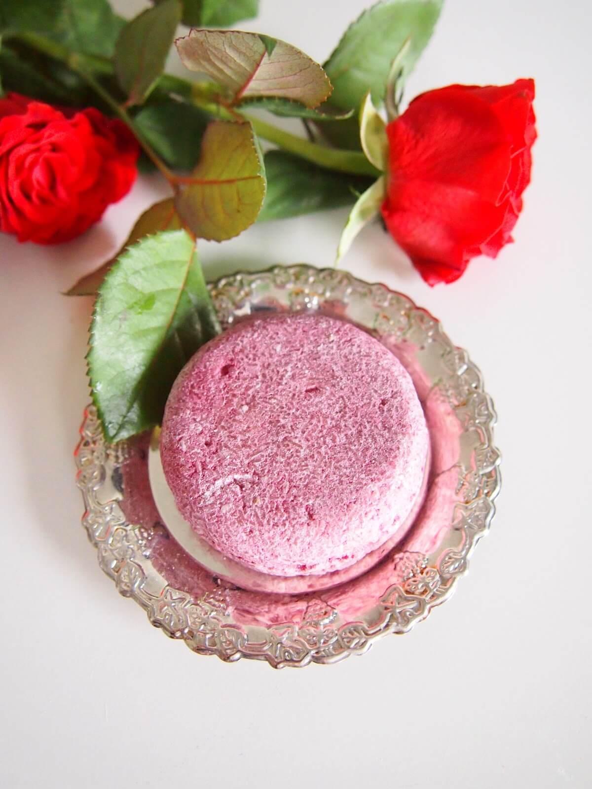 lush ruusu shampoo