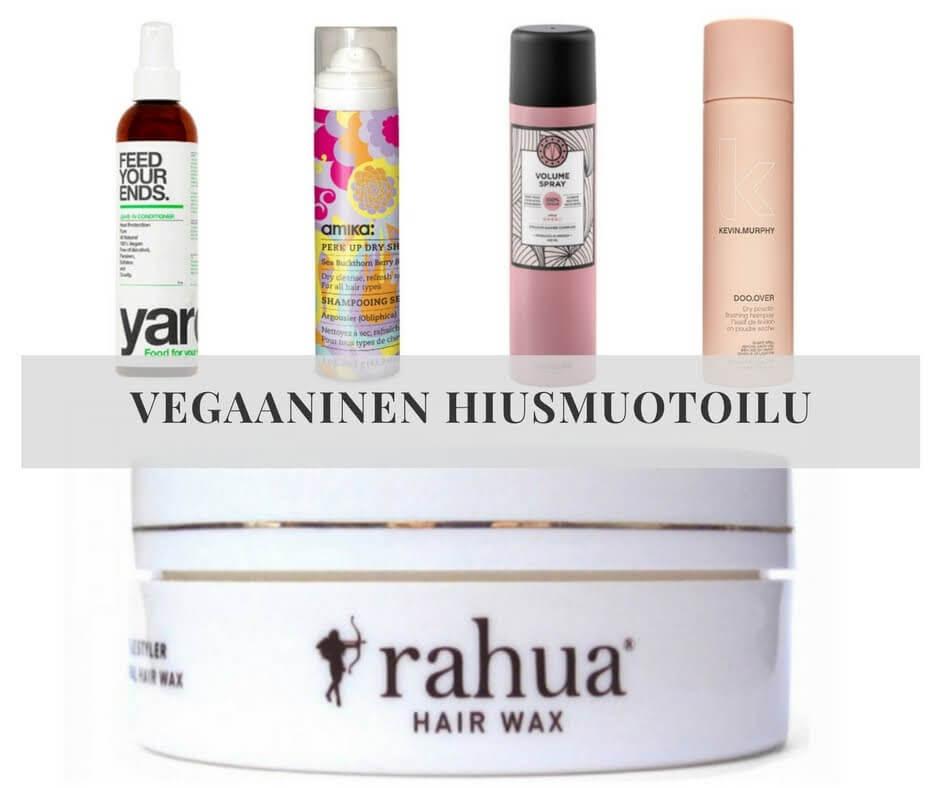 vegaaninen hiustenmuotoilu
