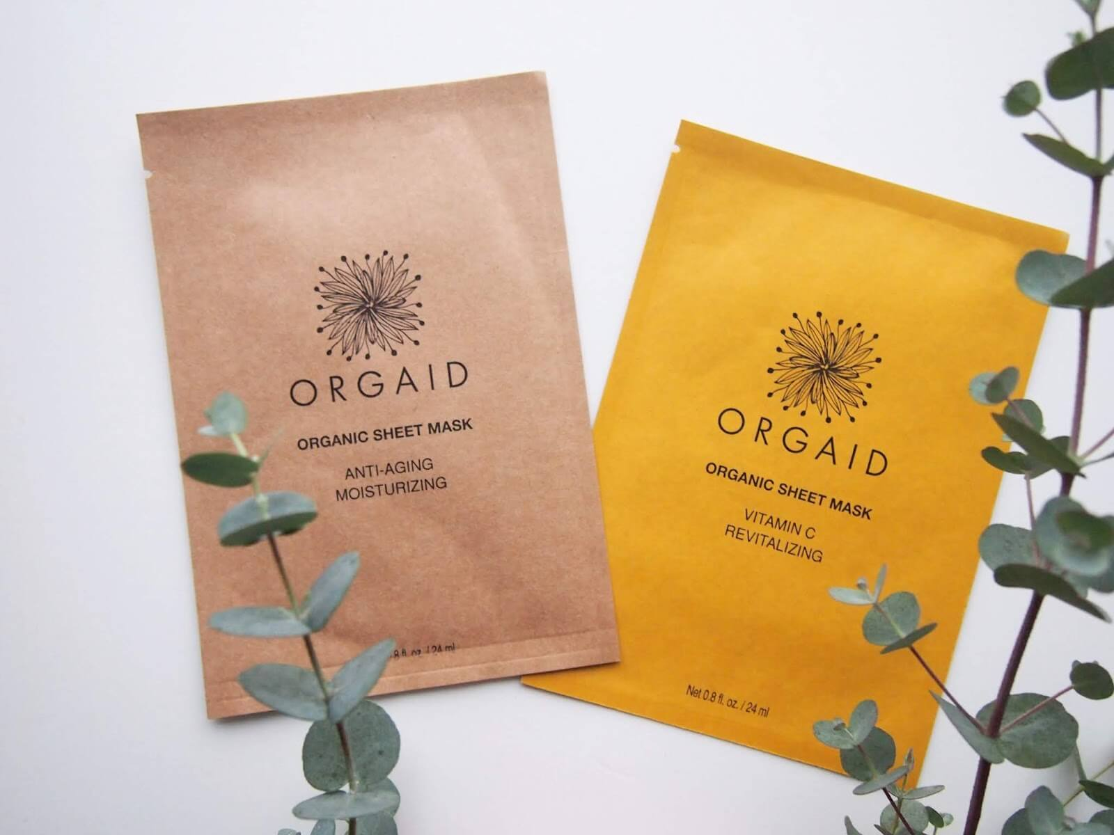 Orgaid Sheet Mask