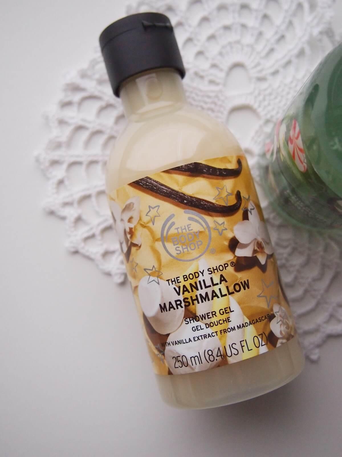 the body shop vanilja