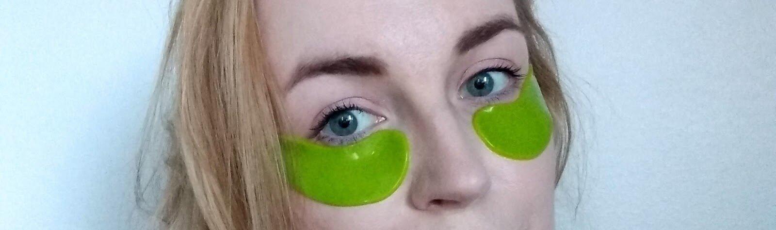 100 % pure hydrogel eye mask