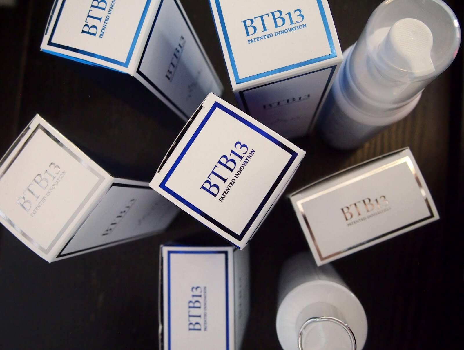 BTB13 kosmetiikkatuotteet