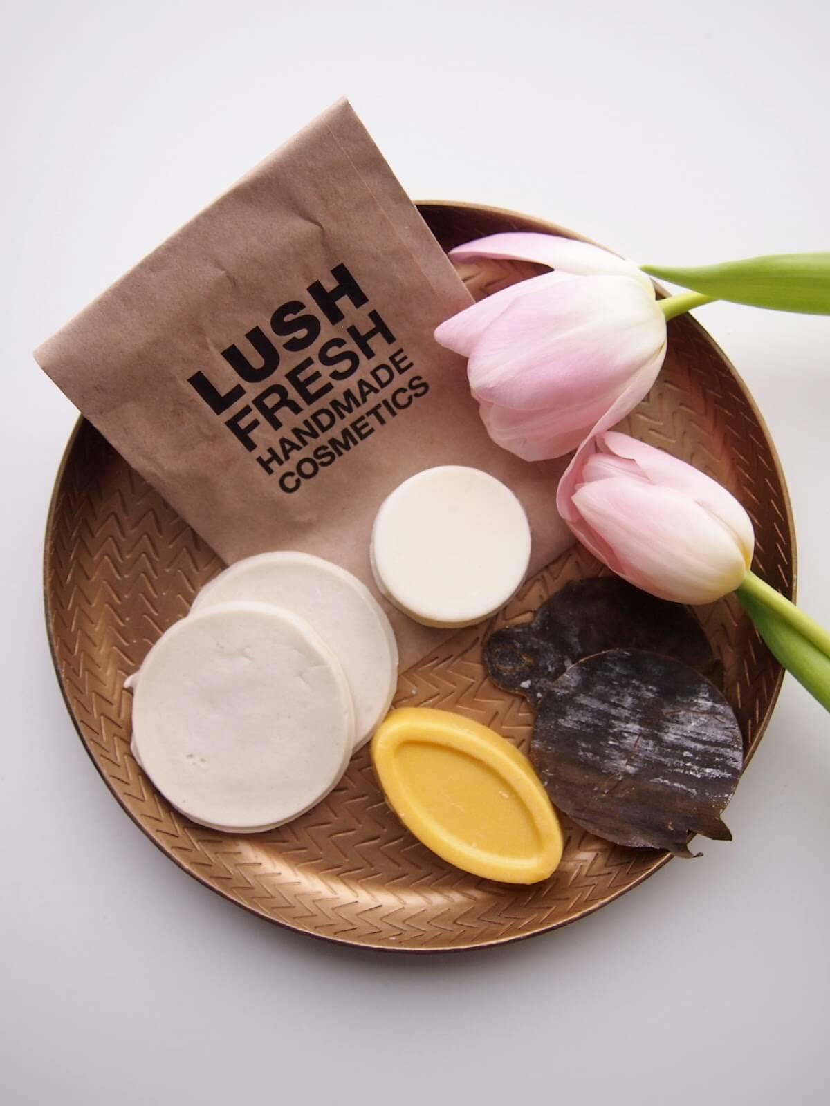 lush pakkaukseton kosmetiikka
