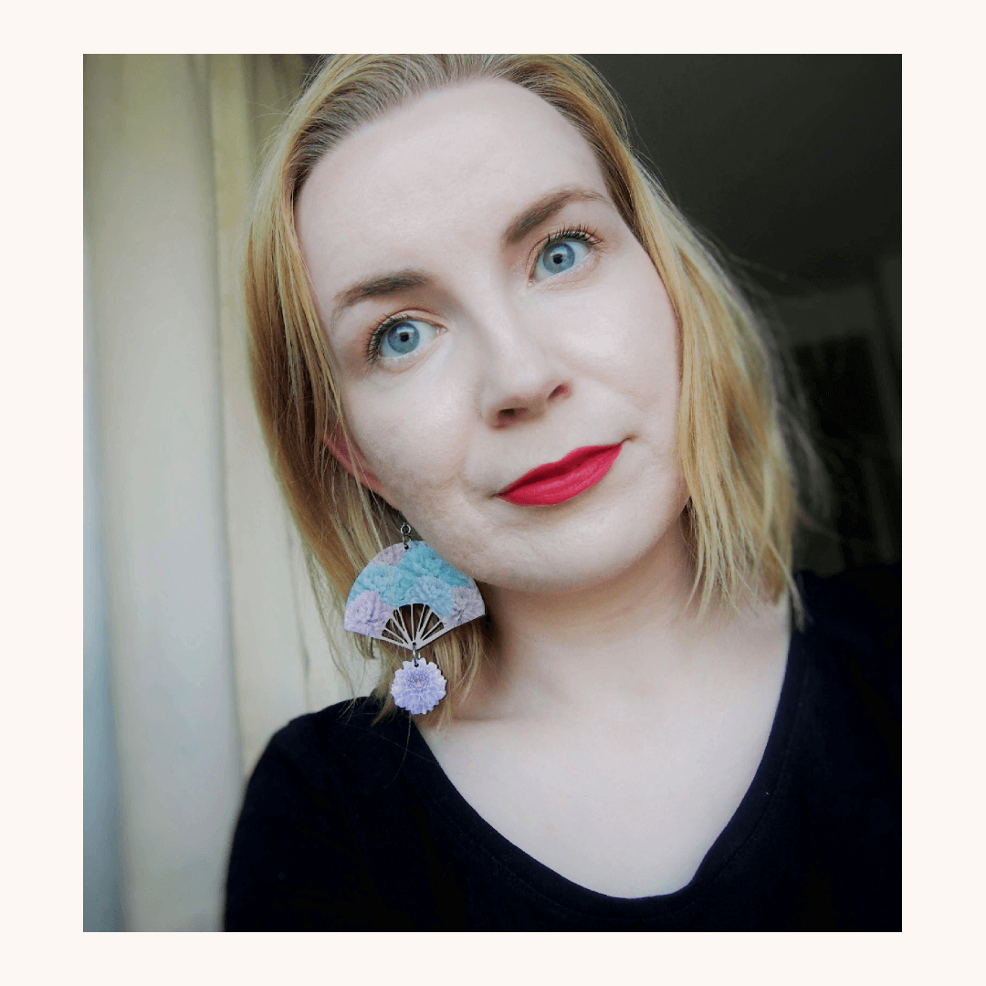 huulipuna meikki