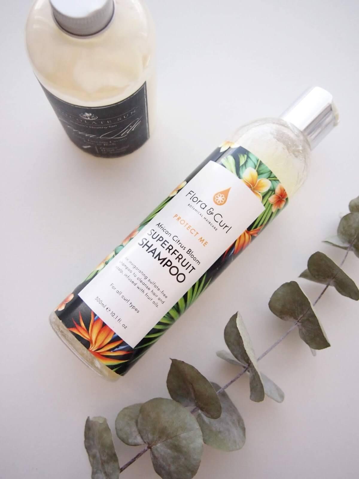flora & curl shampoo