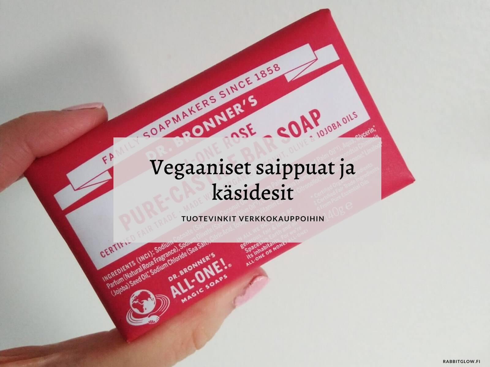 vegaaninen saippua