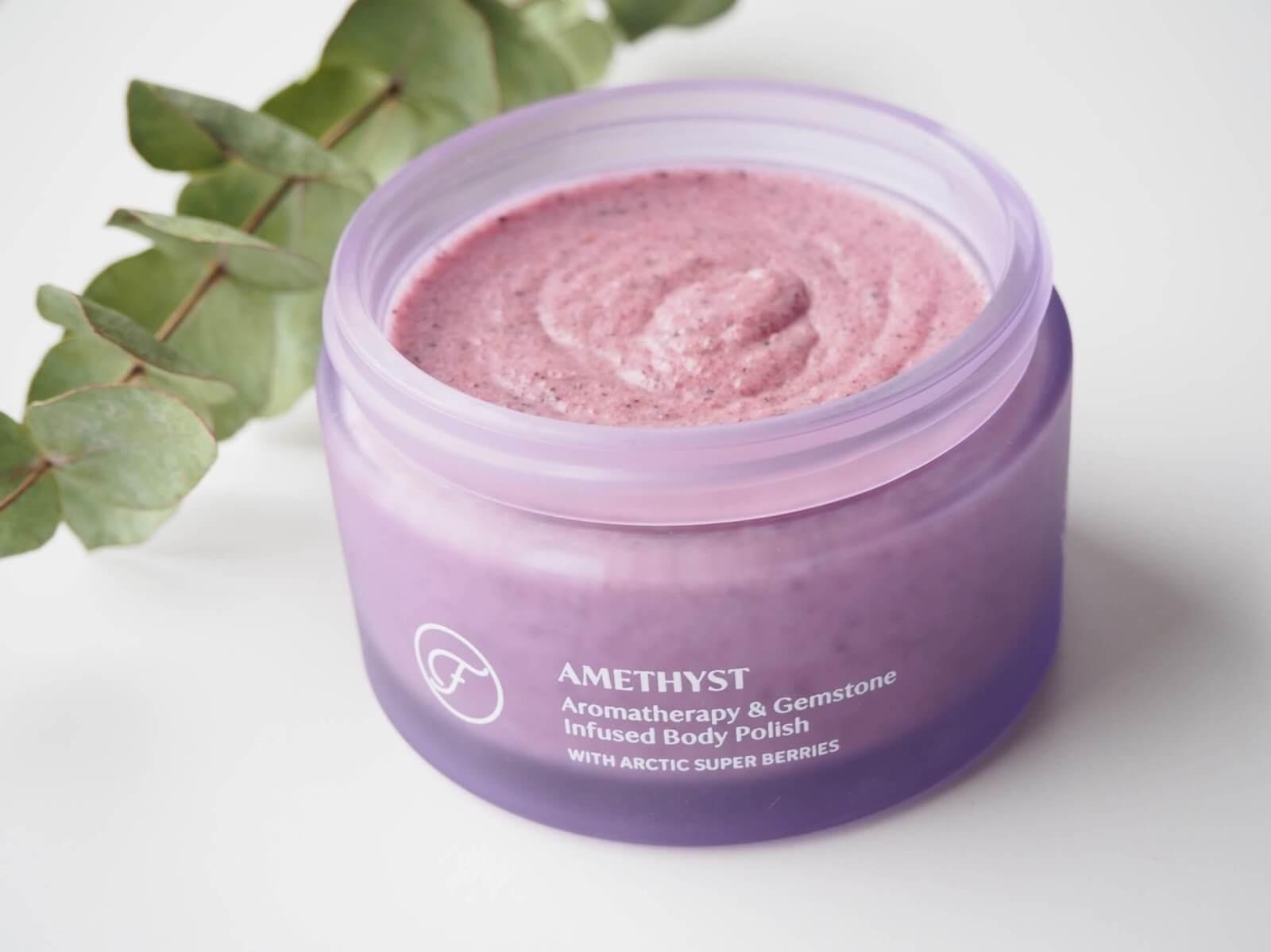 flow cosmetics amethyst kuorinta