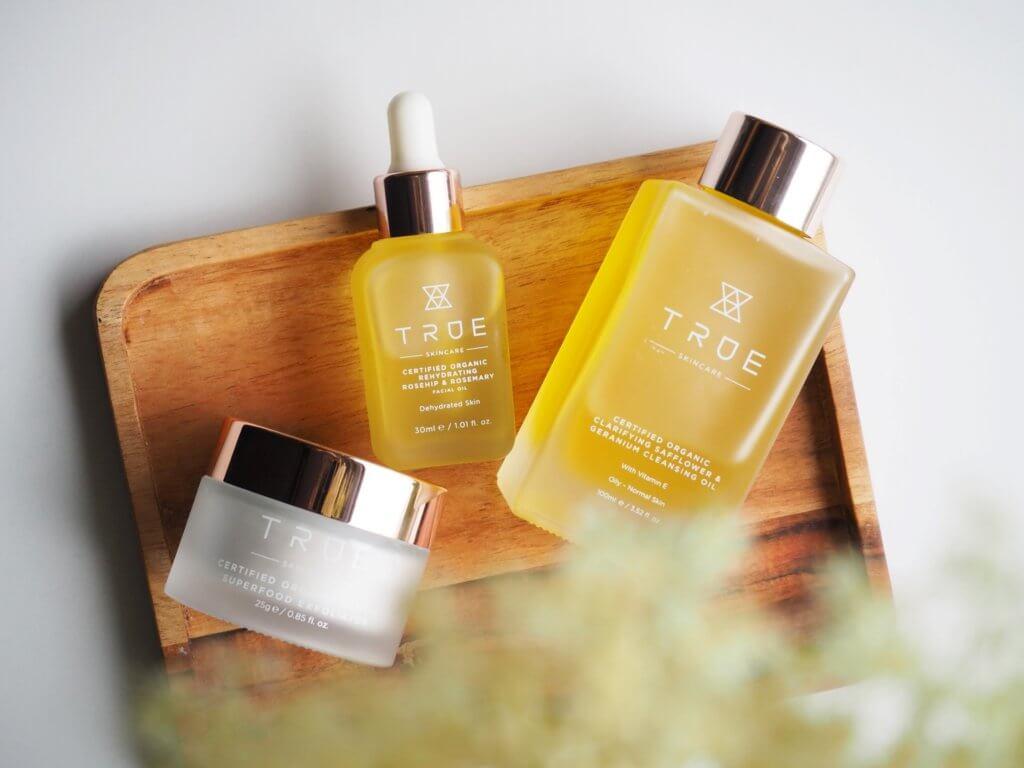 true skincare vedetön kosmetiikka