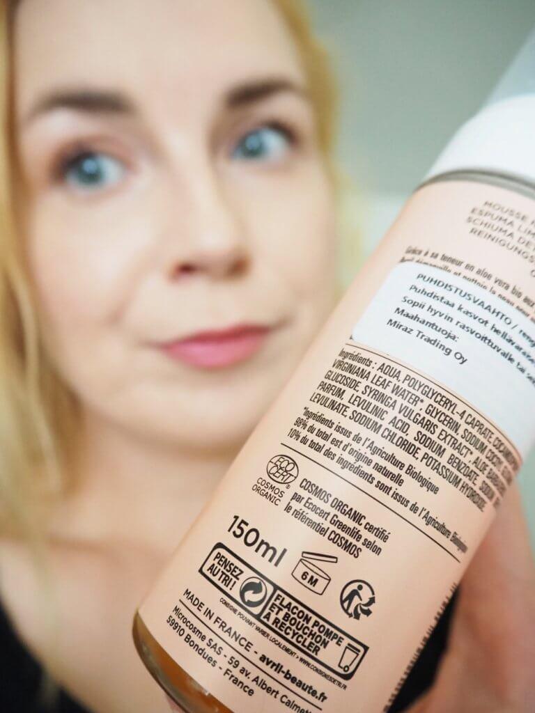 kosmetiikan inci lista