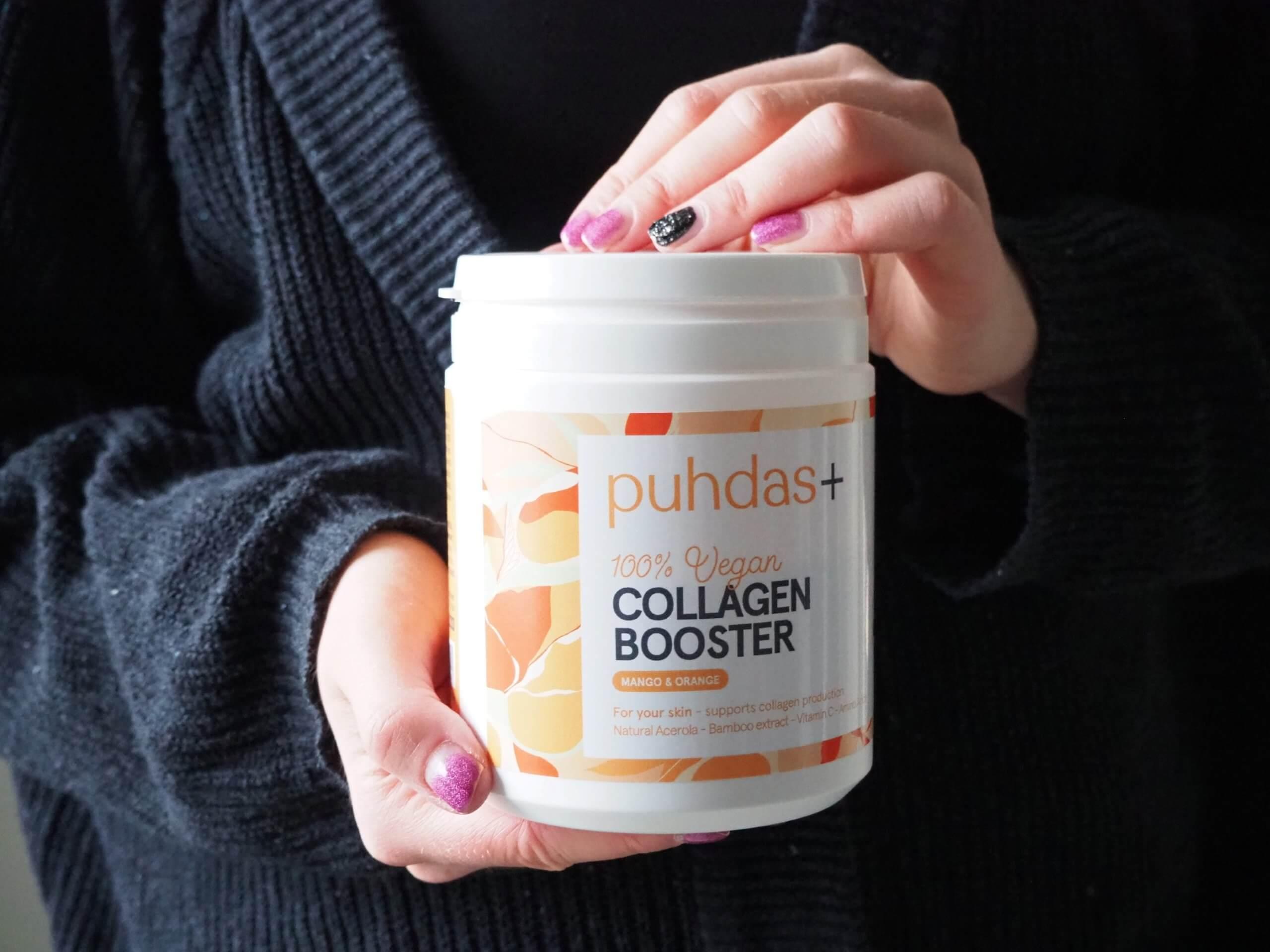 puhdas + vegan collagen booster