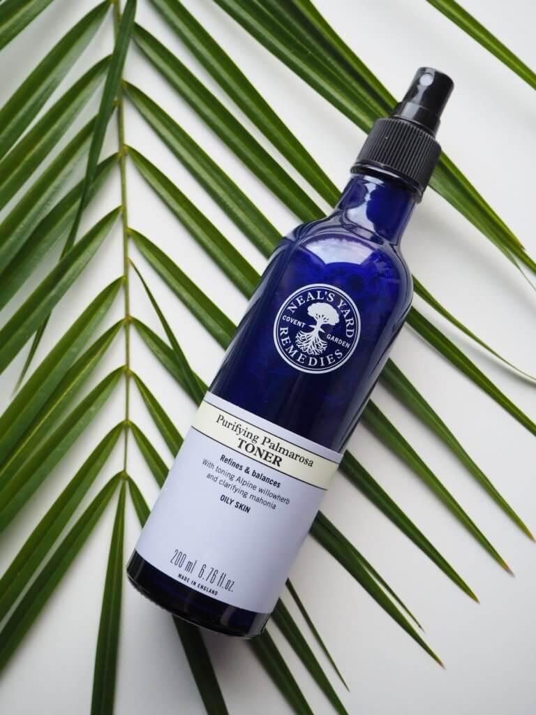 epäpuhtaan ihon kasvovesi purifying palmarosa