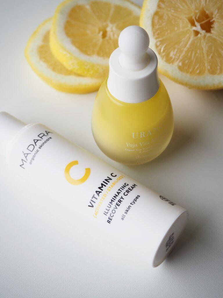 C-vitamiini kosmetiikassa
