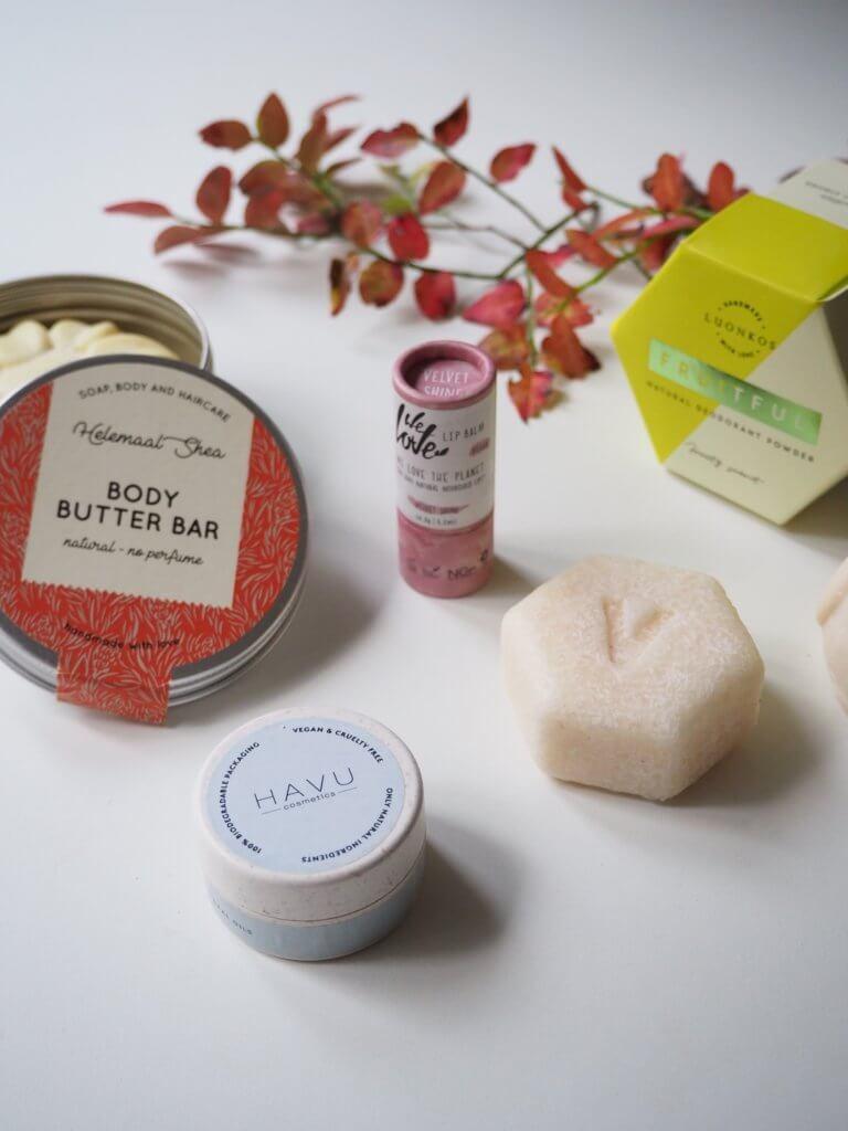 Muoviton kosmetiikka parhaat zero waste -tuotteet