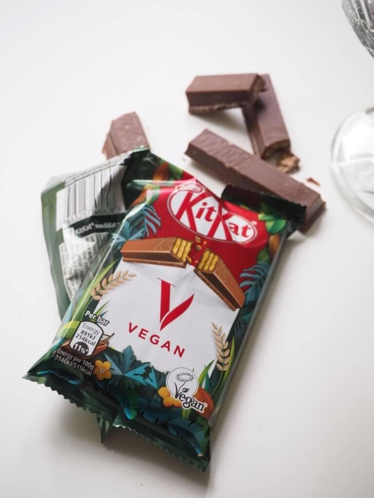Vegaani KitKat